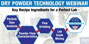 dry powder processing