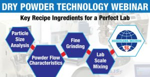 dry powder processing