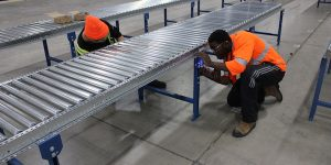 conveyor servicing
