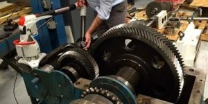 gear measuring arm