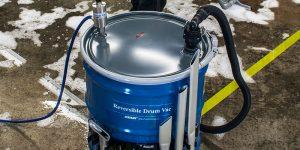 drum vacuums