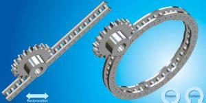 pin gear drive units