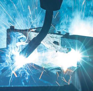 robotic bending and welding