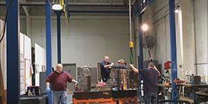 freestanding workstation crane