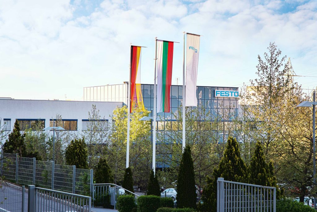Festo production facility wins international award for green manufacturing