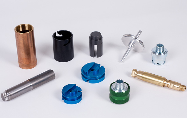 custom-designed precision-machined products
