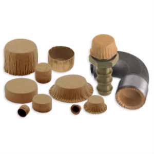 paper plugs and caps