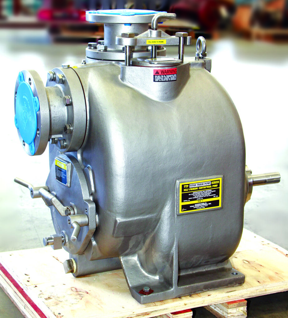 York Fluid Controls supplies self-priming trash pumps as effective solutions