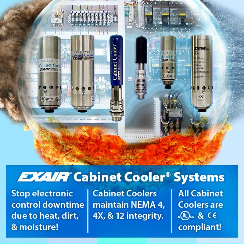 cabinet cooler system