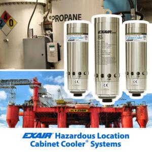 HazLoc cabinet cooler systems