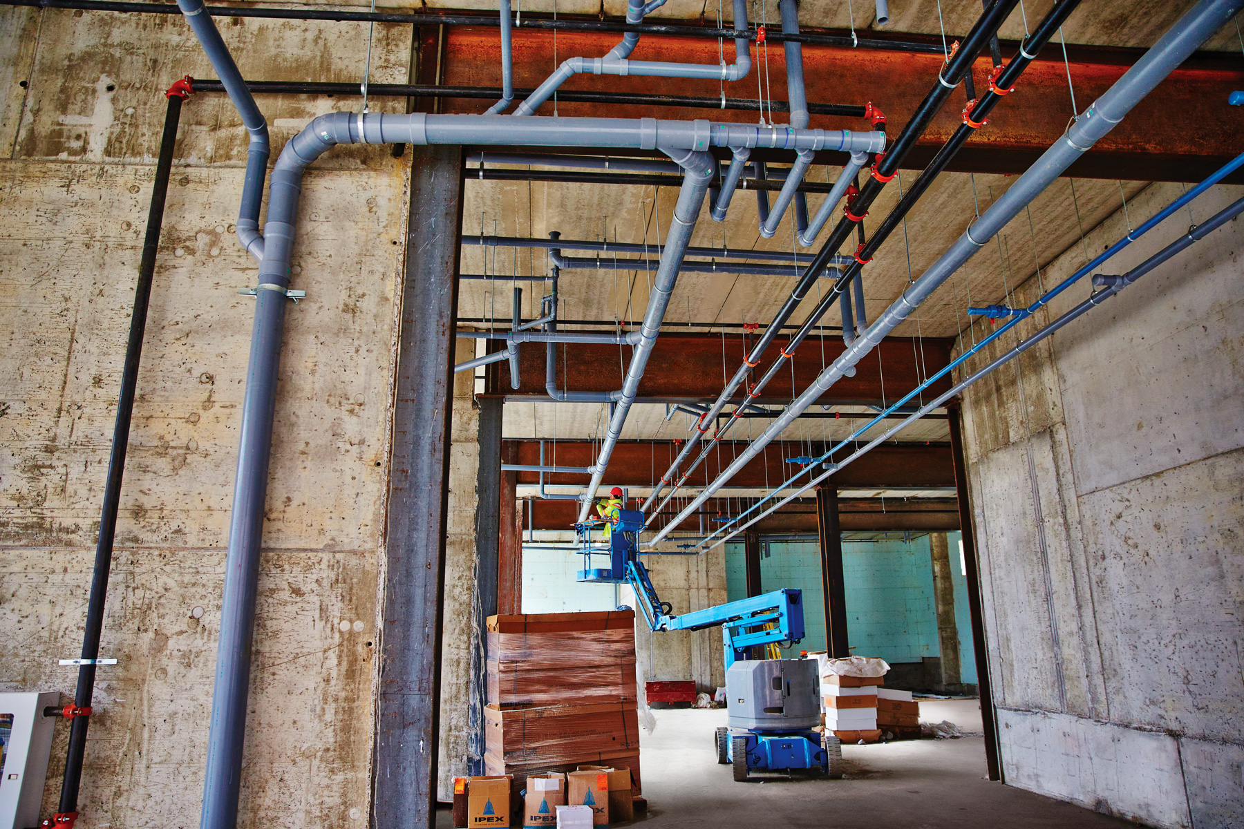 thermoplastic piping systems