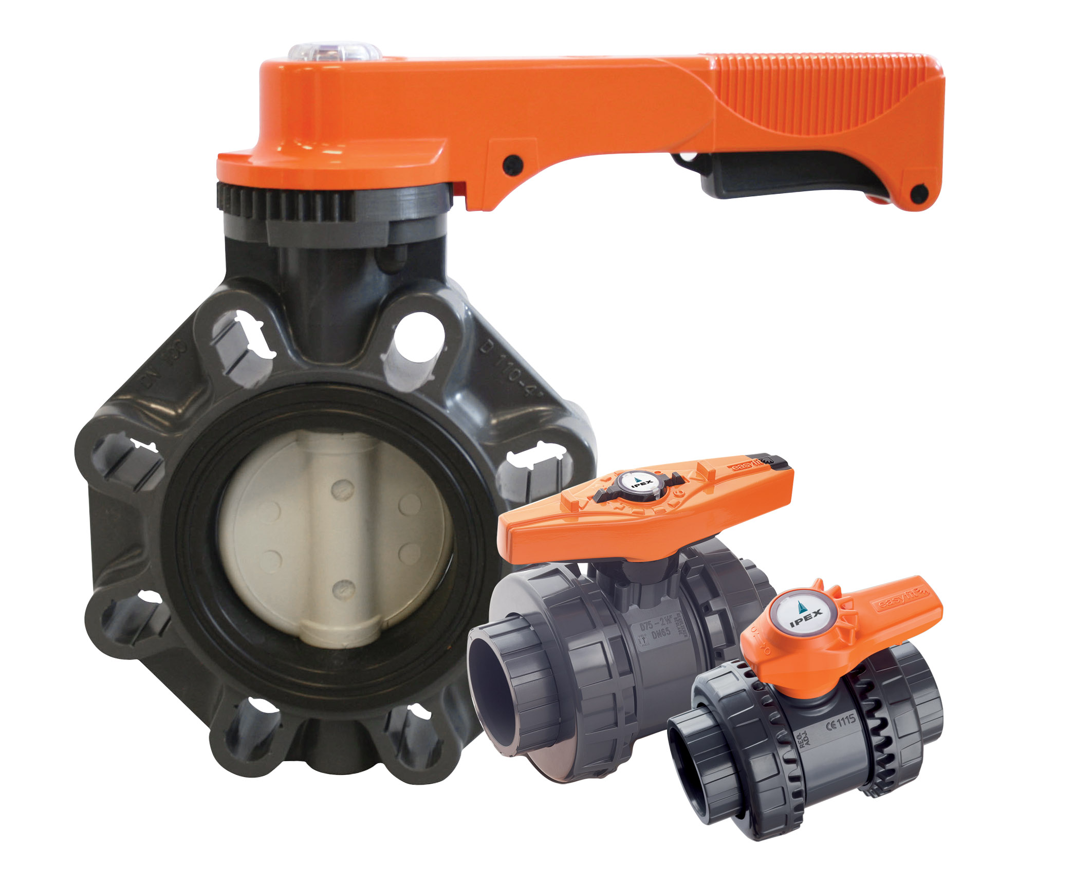 corrosion-resistant thermoplastic valves