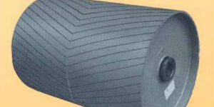 industrial belt-conveyor pulleys