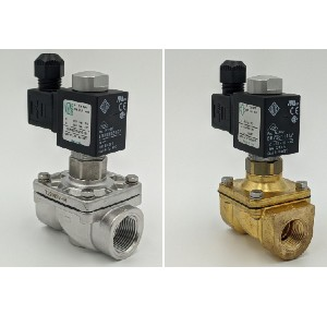 stainless steel and brass valves