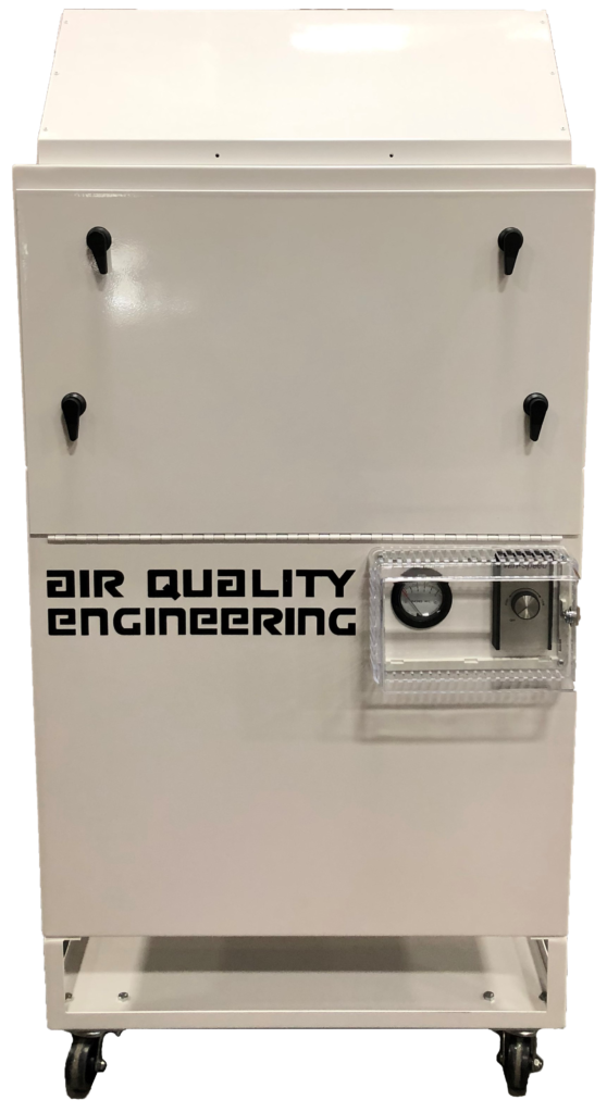 Air Quality Engineering HEPA air cleaner ideal for medical environments