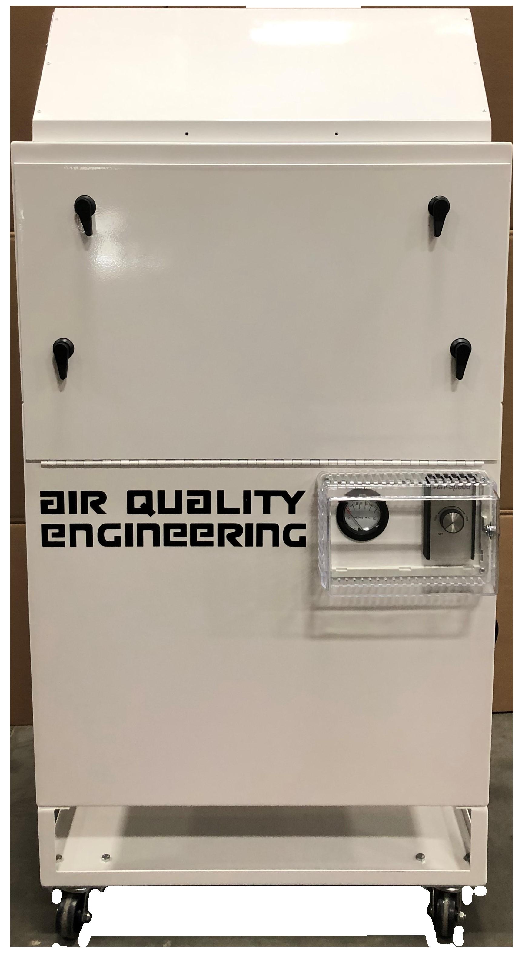 HEPA air cleaner