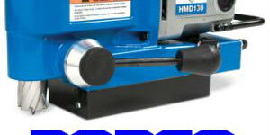 low profile magnetic drill