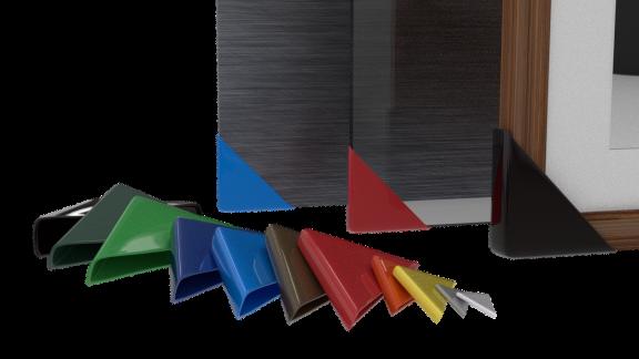 vinyl plastic corner covers