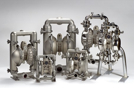 sanitary diaphragm pumps