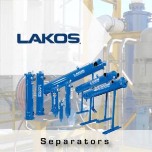 LAKOS centrifugal separators