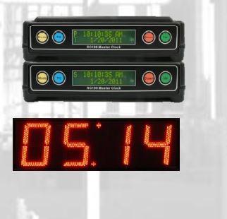 synchronized clock systems