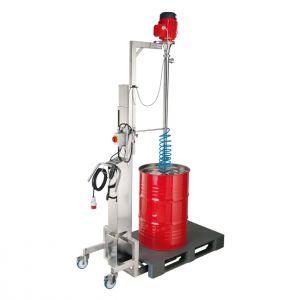 drum emptying pump