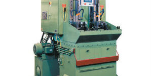 dual-ram vertical broaching machine