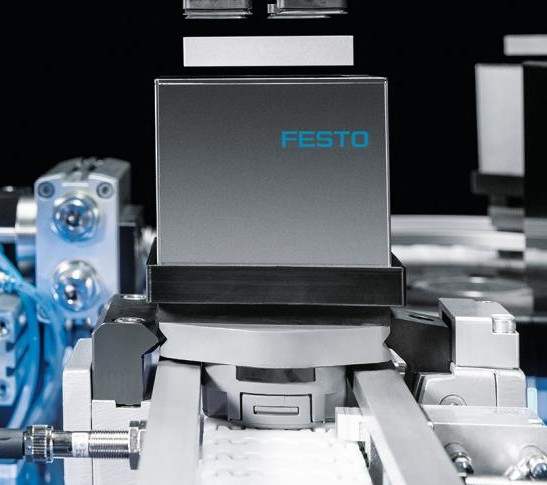 SupraCube levitation module by Festo offers no-contact object handling
