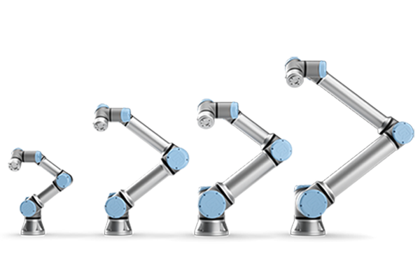 Customers build their collaborative robot applications with UR guidance