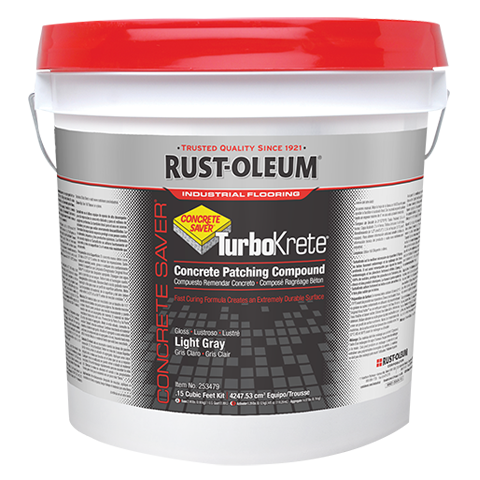 Rust-Oleum offers several great Concrete Saver options for concrete repair