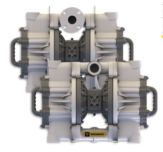 plastic flap valve pump
