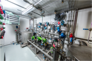 chemical metering system