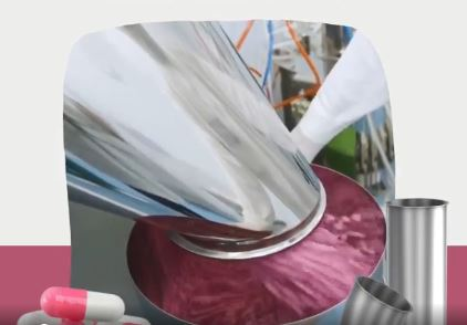 Jacob tubing systems are perfect for bulk goods handling in pharmaceuticals