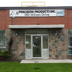 L. & M. Precision has expanded its machining shop over several decades