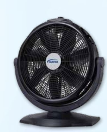 Advance Shipping offers various summer fanning solutions by Matrix