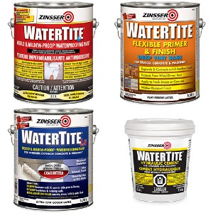 Rust-Oleum carries flexible water blockers for basement flood protection