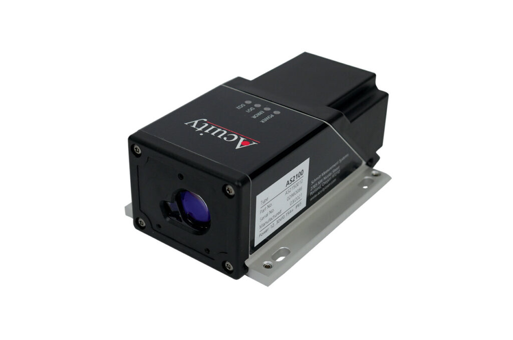AS2100 laser distance sensor by Acuity measures difficult targets accurately