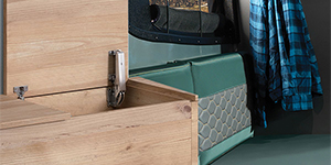 Compact living in recreational vehicles, from Sugatsune Canada