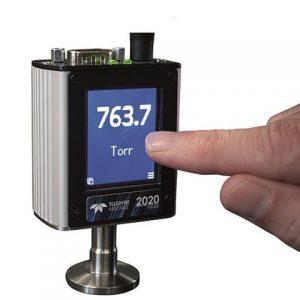 HVG-2020A vacuum gauge by Teledyne Hastings offers analog, digital output