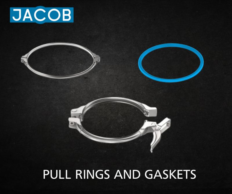 Pull rings and gaskets by Jacob bring efficiency to tubing systems